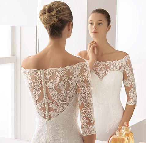 Vestido de Noiva - Coleção Luna Novias