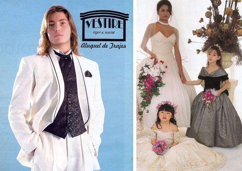 trajes casamento 1996