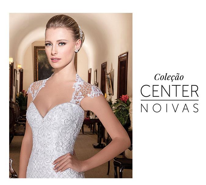 Vestido de Noiva Coleção Center Noivas 2017